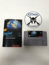 Sim Earth: The Living Planet (Super Nintendo Entertainment System, 1992) - $12.35