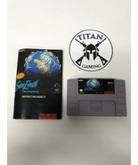 Sim Earth: The Living Planet (Super Nintendo Entertainment System, 1992) - $12.35