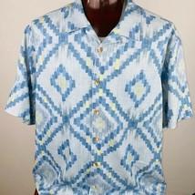 Tommy Bahama Silk Abstract Print Shirt 2XB - $49.49