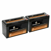 12V 9AH Battery For Apc BACK-UPS XS1500 RBC109 PS-1290 Rbc Smart Ups Battery 2PK - $40.23