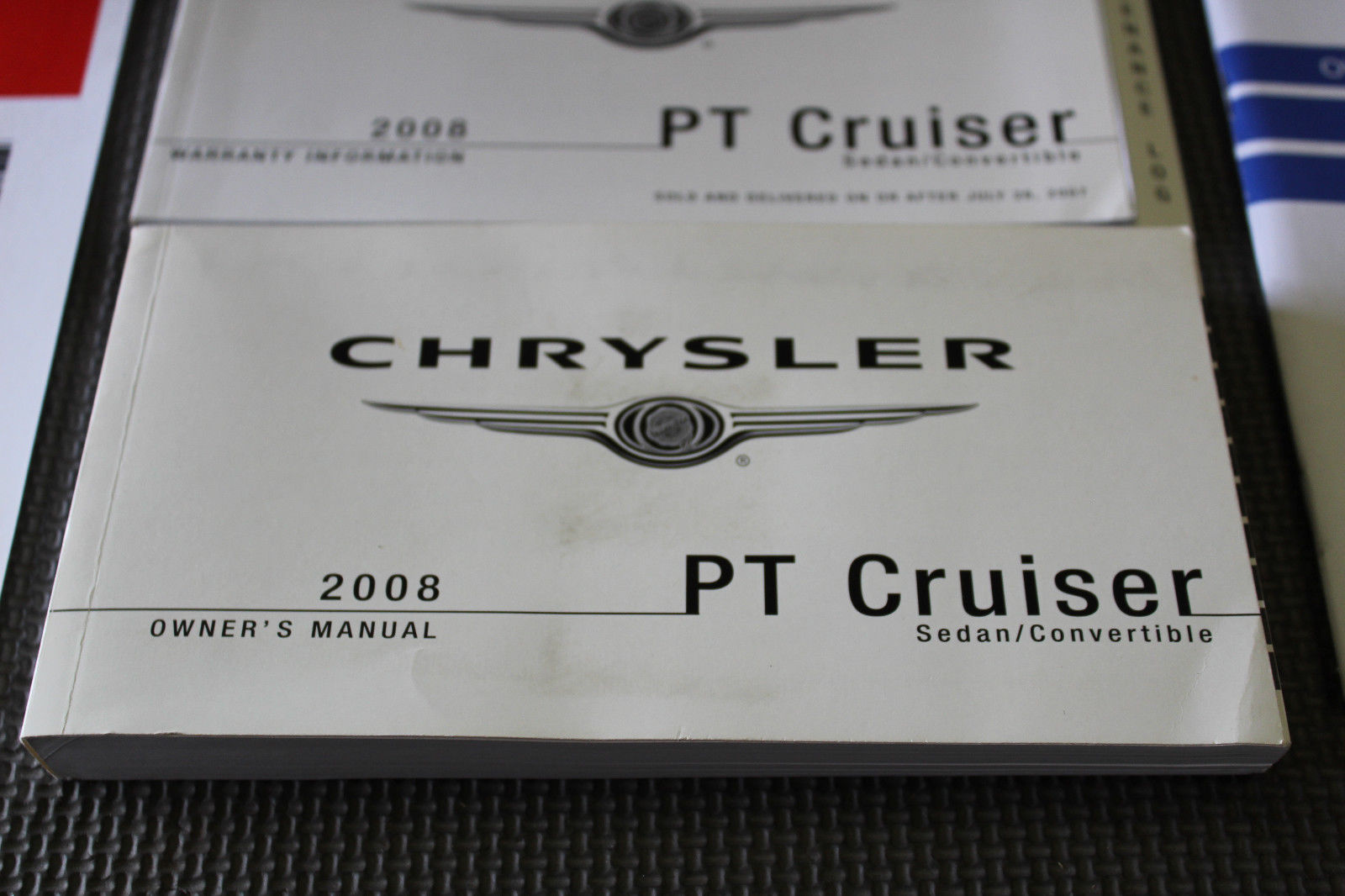 2008 CHRYSLER PT CRUISER BOOKLET MANUAL OWNER OPERATOR GUIDE BOOK V481