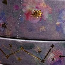 SEALED Papergeek Paper Geek 2x Blue Floral Constellation Washi Tape 33' Each image 4