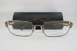 New Authentic Burberry B1079 1016 Rose Gold/Tortoise Eyeglasses 52mm w/ Case - $81.18