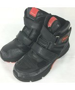 Icon Tarmac Motorcycle Riding Boots Black/Red Men Size 10 - $65.23