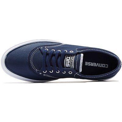 Men's Converse Crimson Canvas Oxford Sneaker, 153464C Sizes 8-12 Navy/White/Natu