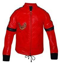 Smokey and the Bandit Burt Reynolds Red Bomber Leather Jacket image 1