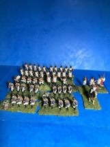 AIRFIX 1/72 52 PLASTIC FRENCH NAPOLEONIC LINE INFANTRY WELL PAINTED ! - $83.70