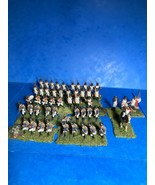 AIRFIX 1/72 52 PLASTIC FRENCH NAPOLEONIC LINE INFANTRY WELL PAINTED ! - $78.68