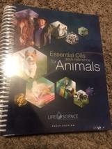 Essential Oils ANIMAL Desk Reference EODR 1st Edition 2017 Hard Spiral N... - $61.71