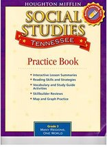 Houghton Mifflin Social Studies Tennessee: Practice Book Consumable Lv 3... - $3.94