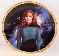 STAR TREK Next Generation 5th Anniversary Hamilton Collection Plate Dr. ... - $19.99