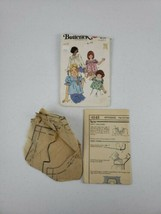 Vintage '60s Cut Butterick Child's Girl's Top Sewing Pattern 4143 Size 12 - $8.00
