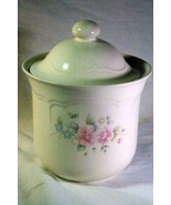 "Pfaltzgraff Tea Rose Extra Large Canister 9 7/8"" - $9.44"