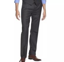 INEW ALFANI Size 32x32 Men's Gray Suit Separates Textured Flat Front Dre... - $43.00