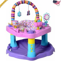 Baby Bouncer Activity Center Exersaucer Evenflo Bounce and Learn Toy Int... - $76.09