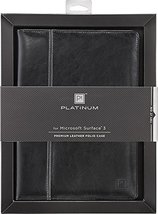 Platinum Leather Folio Case for Microsoft Surface 3 - $9.99