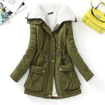 Slim Winter Fur Long Sleeve Women Outwear Jackets - $50.98