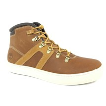 Timberland Men's Dauset Cup Wheat Brown Leather Hiker Boots Style A1JEK - $69.99