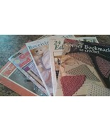 Lot of 5 Crochet Pattern Booklets Variety of Themes MEL-024 - $4.96