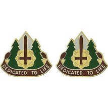 Genuine U.S Army Crest: 47TH Combat Support Hospital - Dedicated To Life - $18.79