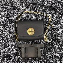 Tory Burch Alastair Pebbled Small Shoulder Bag - $412.00