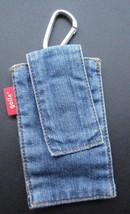 Golla Denim Blue Jeans Belt or Bag Clip Pouch Glasses Credit Cards - $9.49