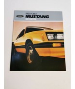 Mustang 1982 Brochure Ford Original Sales Literature - $24.99