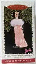 Barbie: Enchanted Evening 3rd in Series 1996 Hallmark Ornament QXI6541 - $8.86