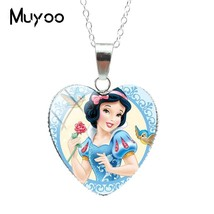 2019 New New Fashion Snow White and the Seven Dwarfs Fairy Tale Heart Pe... - $8.02