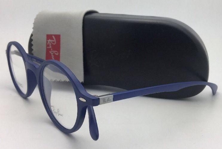 868dc71282021 New RAY-BAN Eyeglasses LITEFORCE RB 7069 5439 46-22 145 Matte Blue Frames