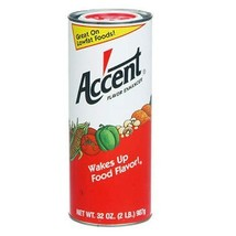 Ac'cent Flavor Enhancer - 2 lb. canister (pack of 2) - $37.58