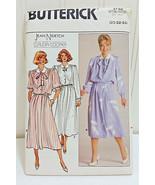 Vintage BUTTERICK Pattern 3753 Claudia Cooper Jean Nidetch Dress Tie Siz... - $14.02
