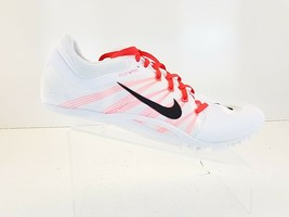 Nike Zoom JA Fly 2 Track Sprint Shoes Spikes & Tool 705373-101 New Mens Size 14 - $100.92