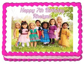 American Girl Group Edible Cake Image Cake Topper - $8.98+