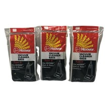 3 - Hoover Type D Vacuum Bags 4010005D 3pk Dial-a-matic Cleaners 9 Total Bags - $19.99