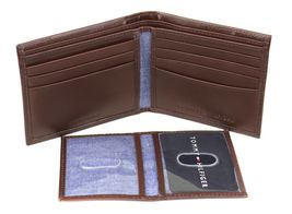 Tommy Hilfiger Men's Premium Leather Credit Card ID Wallet Passcase 31TL220061 image 14