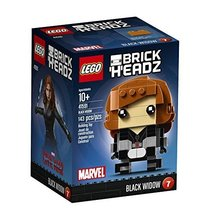 LEGO BrickHeadz Black Widow 41591 Building Kit - $17.08