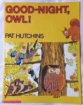 "Good-Night, Owl! BIG Book Paperback 19"" TallClass Size K5 Teacher Copy ... - $16.61"