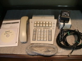 Mitel 5550 Ip Console Kit P/N 50001145 In Perfect Condition!!! - $578.55