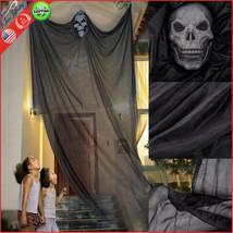 Hanging Ghost Halloween Decoration Outdoor Scary Spooky Home Decor 7' X ... - $70.43