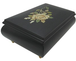 "Italian Music Box, 6.5"", Black, Matte Finish - $229.95"