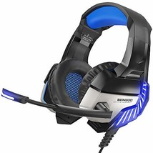 BENGOO K8 Gaming Headset for PS4, Xbox One, PC, Mac, Noise Cancelling Over Ear - $39.22