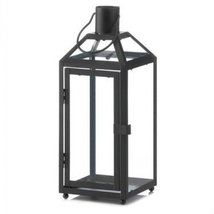 Classic Metal Candle Lantern - 12 inches - $35.72