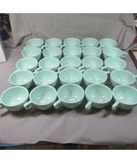 Lot 25 Unused Mid Century Boonton Green #203 Cups, 1950's, Melmac - $36.45