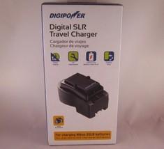 Digipower Digital SLR Travel Battery Charger for Nikon DSLR Cameras DSLR... - $17.72