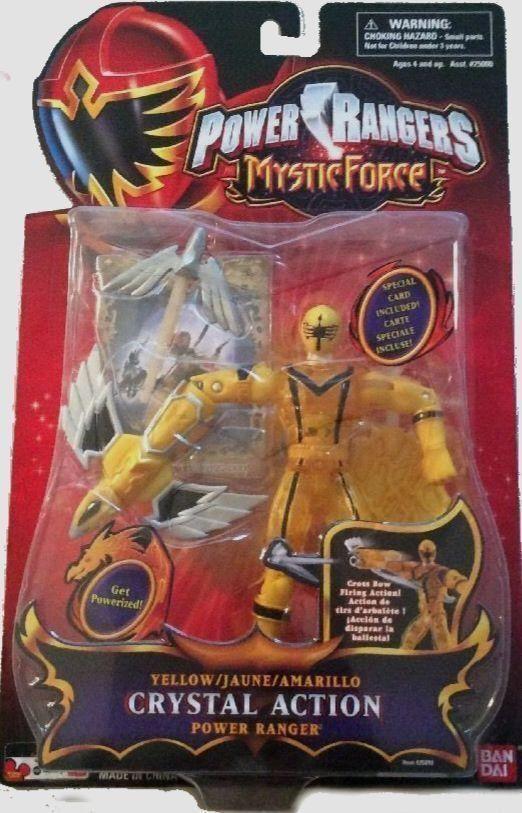 "Power Rangers Mystic Force 5/"" Green Mystic Light Ranger New Factory Sealed 2006"