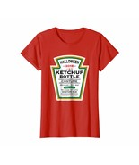 Halloween Shirts -  Halloween Red Ketchup Label Bottle Costume t-shirt W... - $19.95+