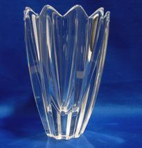 Orrefors Crystal Fleur Flower Vase Design Jan Johansson 5 3/4 In Tall - $26.90