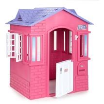 Girls Toys Fun Little Game Tikes Princess Cottage Playhouse, Pink - $175.03