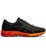Asics GEL-Quantum 180 4 Black Classic Red Men Neutral Running Shoes 1021... - £108.68 GBP